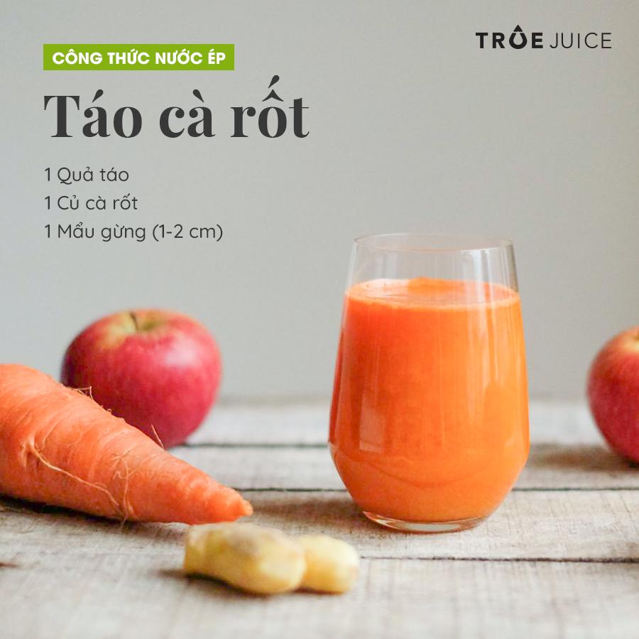 táo cà rốt